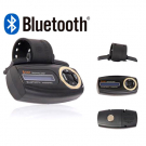 Steering Wheel Bluetooth Car Kit Hands Free LCM Screen 3A Battery VTB-300