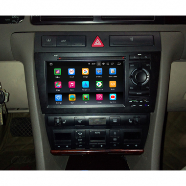 Android Audi A6 Radio Replacement Aftermarket Navigation Stereo With DVD GPS Apple Carplay