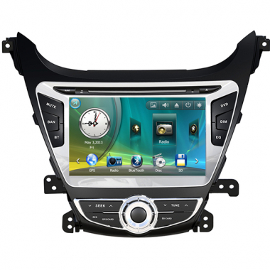 New Hyundai Elantra Navigation DVD GPS for Elantra 2014-2015