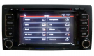 2 Din Volkswagen Touareg DVD Player VW Touareg GPS Navigation Radio Bluetooth