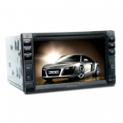 Double Din In Dash Car DVD Player Built-in GPS 6.2 Inch LCD Screen with IPOD Bluetooth RDS TMC