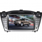 2 Din Hyundai IX35 DVD Player - Hyundai IX35 GPS Navigation 7 Inch LCD Screen with Bluetooth FM TV
