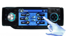 One Din Car DVD Player with TV Bluetooth RDS Ipod 4 Inch LCD Screen Adjustable Panel