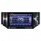 "5"" One Din Car DVD Player with FM Bluetooth USB TV Adjustable Panel LCD Touch Screen"