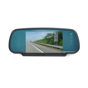 6 Inch Rearview Mirror Monitor Touch Keys