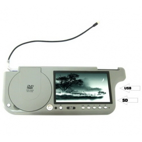 7 Inch Sun Visor DVD Player TFT LCD Wide Screen Sunvisor Monitor